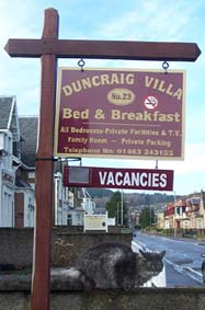 Inverness Bed and Breakfast Accommodation